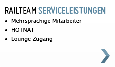 Railteam Serviceleistungen